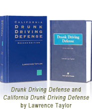 Mr. Taylor's DUI Defense Books